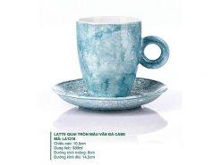 ly latte cafe, ly cà phê đẹp, ly sứ đẹp bát tràng,