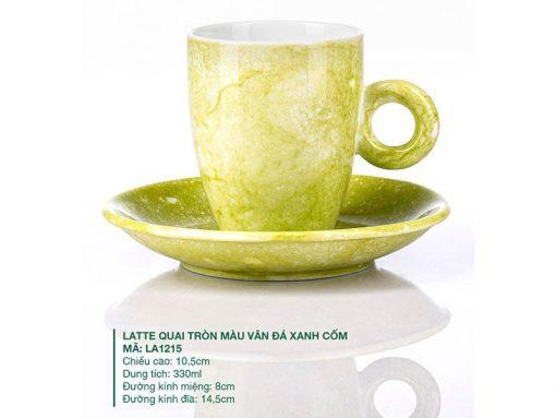 Mẫu ly cafe đẹp, Ly latte cà phê, ly sứ bát tràng đẹp