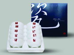 Bộ Bàn Ăn CK005 Sứ CK (trắng - in logo)