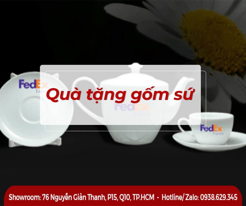 Ly Sứ Quai C Trắng Bát Tràng 0.3L giá in Logo